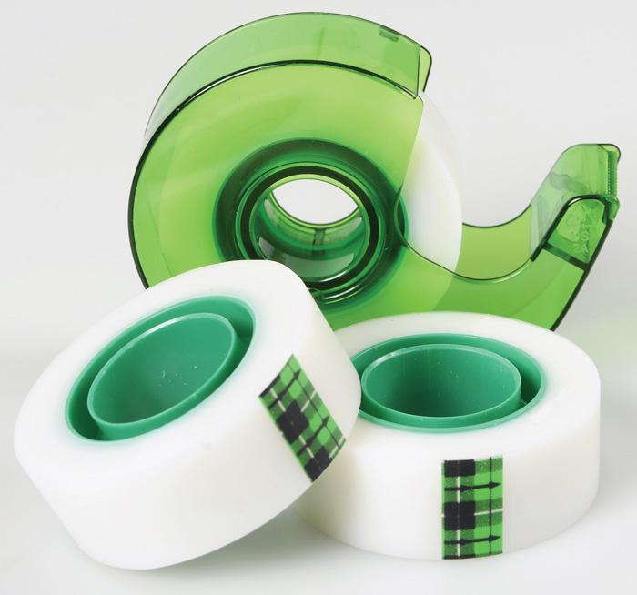 Lepicí páska Scotch Magic s odvíječem - 19 mm x 25 mm / 3 ks