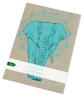 Papírny Brno sešit školní ECONOMY 20 listů A4 čtvereček 425