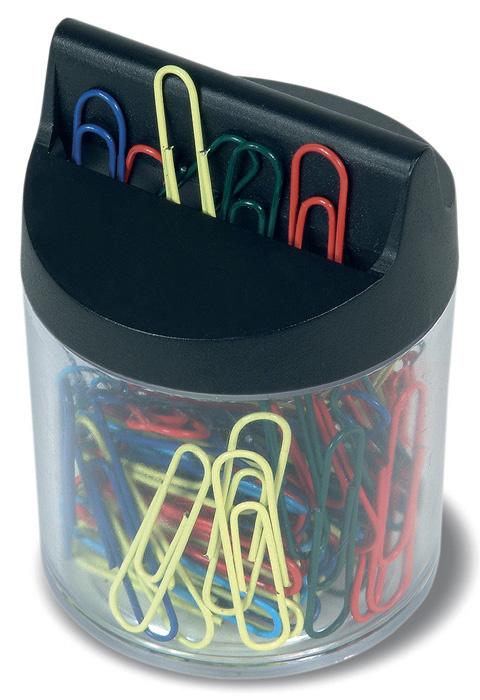 Magnetický držák na dopisní sponky RON - černá