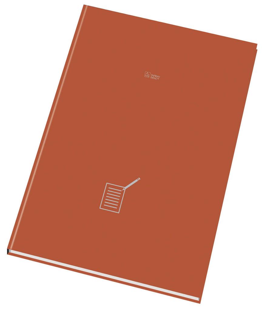 Kniha záznamní šitá Papírny Brno - A6 / čistý / 96 listů