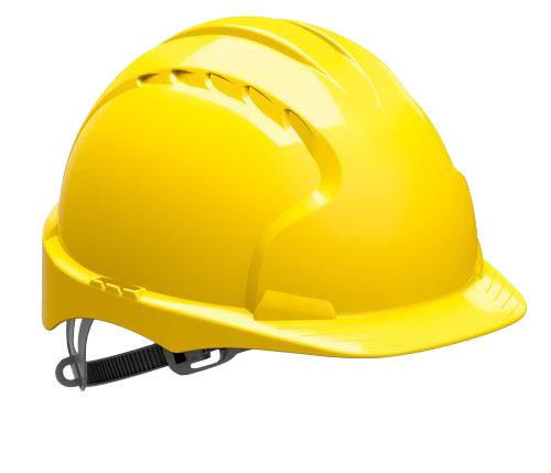 Přilba ochranná EVO 6 - žlutá