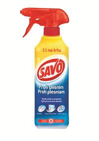 Savo proti plísni - 500 ml s rozprašovačem