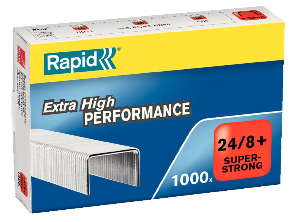 Spojovače Rapid - 24 / 8+ / 1000ks / Super Strong