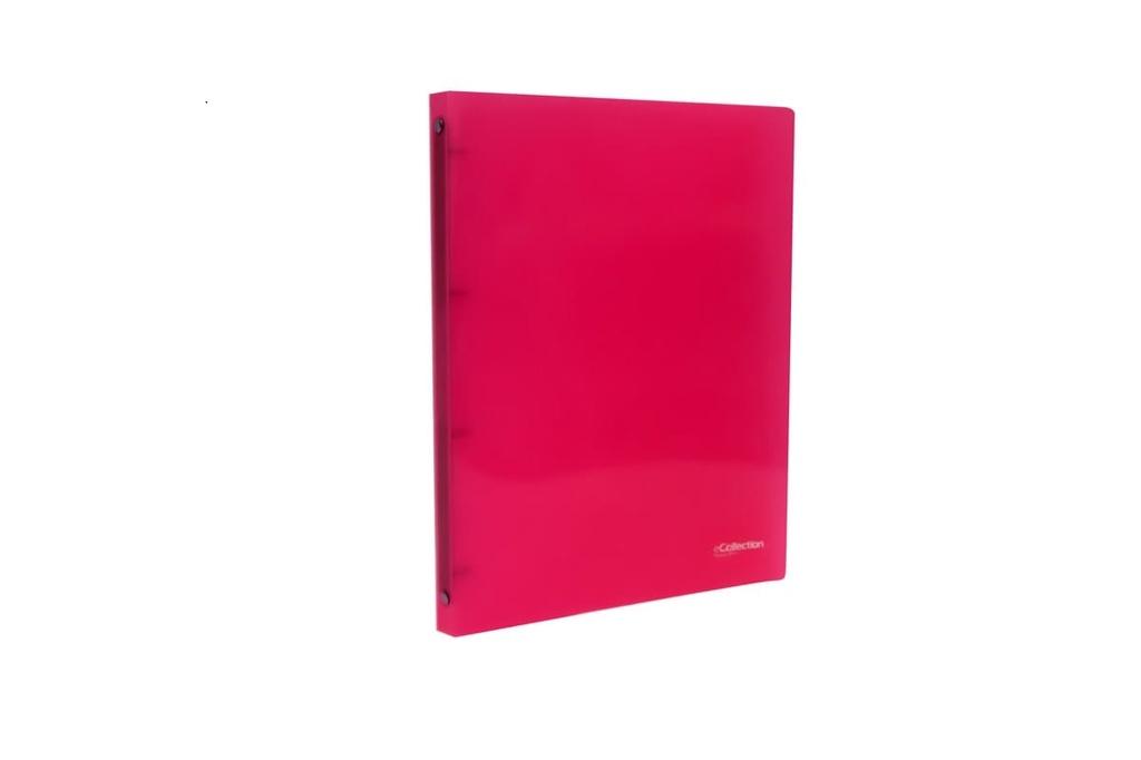 KPP pořadač A4 kroužkový eCollection 2,5 cm 4-kroužek růžová