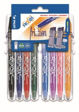 Pilot FriXion Set2Go - Ball 0,7 mm / 8 ks