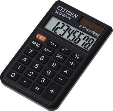 Kalkulačka Citizen SLD - 200 N - displej 8 míst