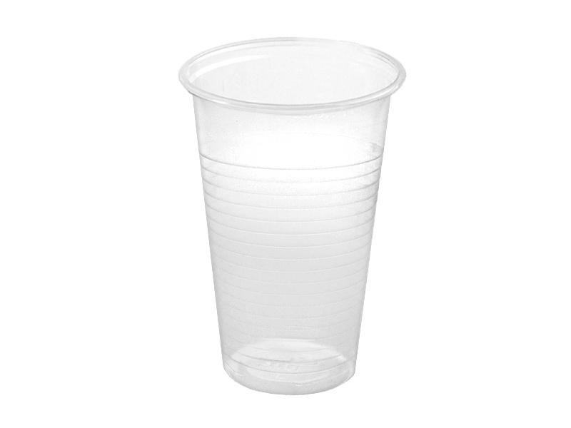 Plastový kelímek - 0,2 l / 100 ks / transparentní