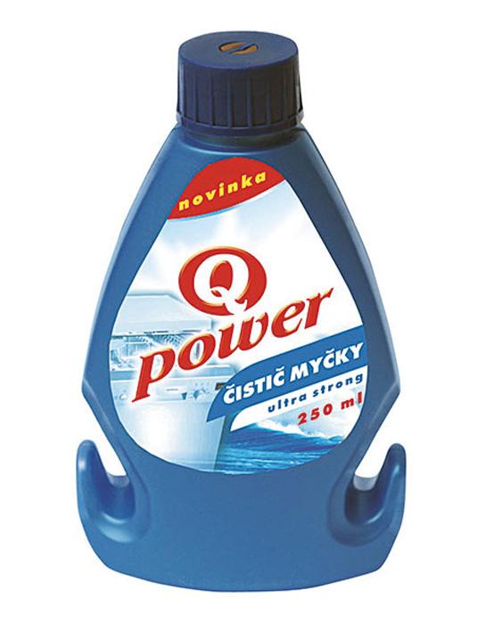 Prostředky do myčky Q-Power - čistič myčky / 250 ml