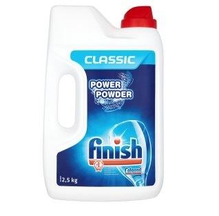 Finish – prostředky do myčky - prášek / 2,5 kg