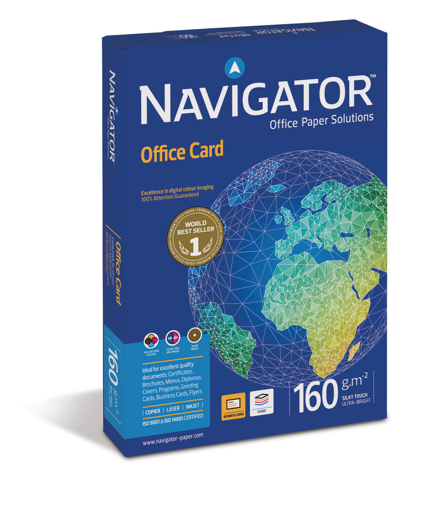 Xerografický papír Navigator Office Card - A4 160 g / 250 listů