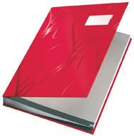 Designová podpisová kniha - červená