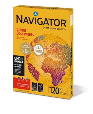 Xerografický papír Navigator Color Documents - A4 120 g / 250 listů