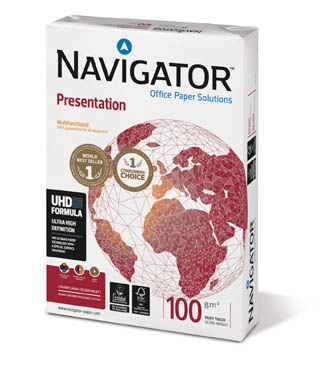 Xerografický papír Navigator Presentation - A4 100 g / 500 listů