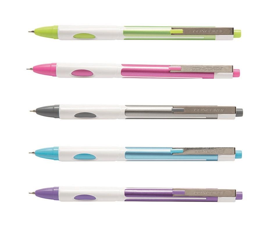 Kuličkové pero CONCORDE Ezee Pro - barevný mix
