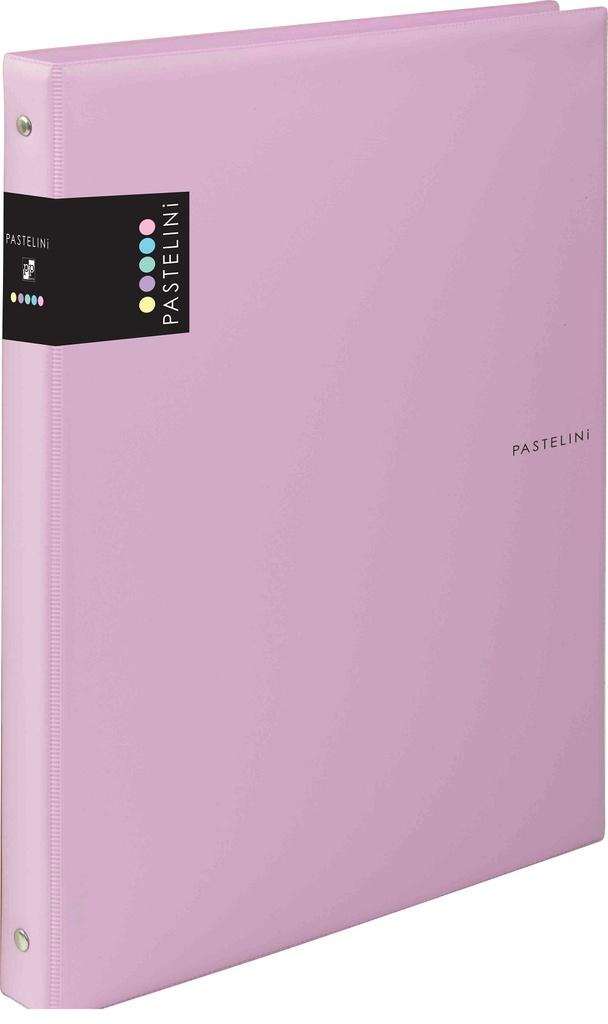 Kroužkové záznamníky Karis PASTELINI - A5 / růžová