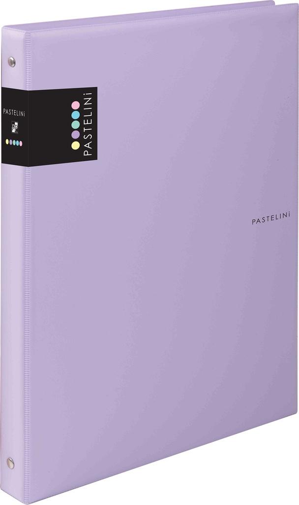 Kroužkové záznamníky Karis PASTELINI - A5 / fialová