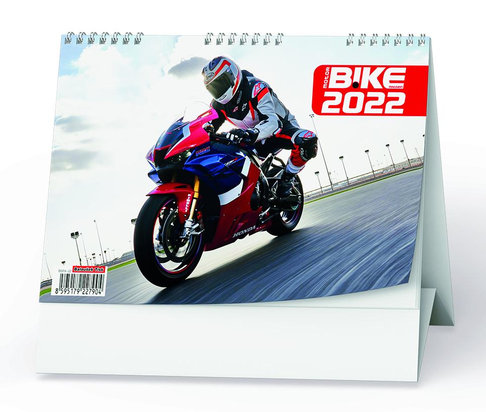 Kalendář stolní -  Motorbike/ BSF8
