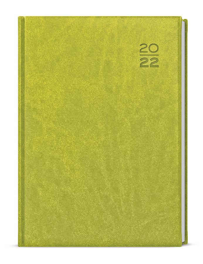 Diáře VIVELLA - denní A5 / zelená
