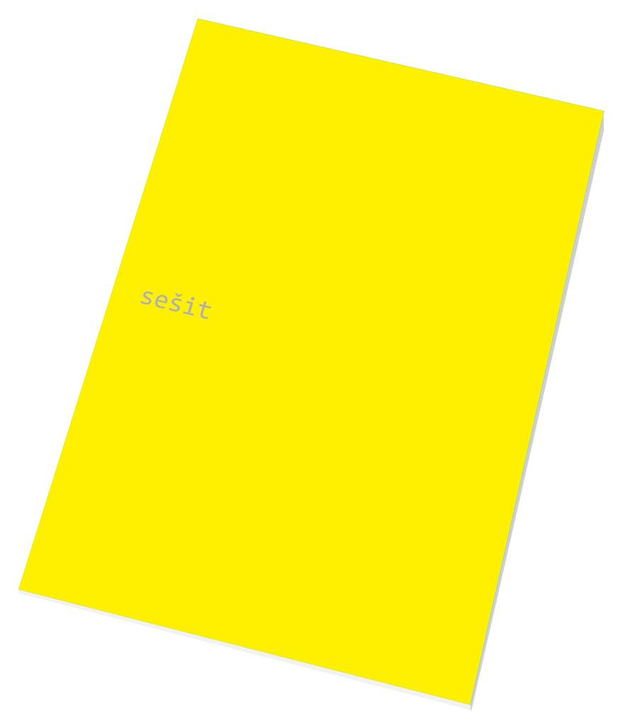 Papírny Brno sešit A4 40 listů linka 444 mix barev