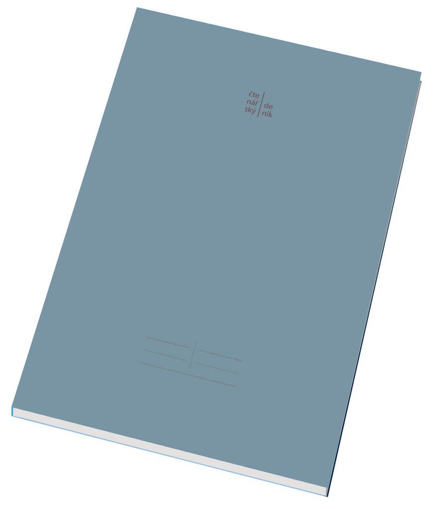 Čtenářský deník - A4 / 80 listů / mix barev