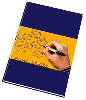 Kniha došlé pošty - pevné desky - A4 / 100 listů