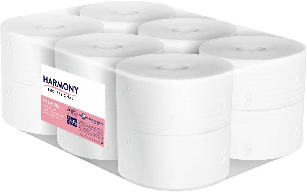 Toaletní papír Jumbo 100 % celulóza - průměr 190 mm