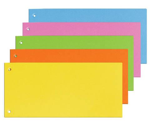 Rozdružovací kartonové jazyky - barevný mix / 100 ks