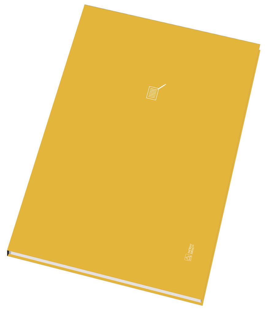 Kniha záznamní šitá Papírny Brno - A4 / linka / 96 listů / index A - Z
