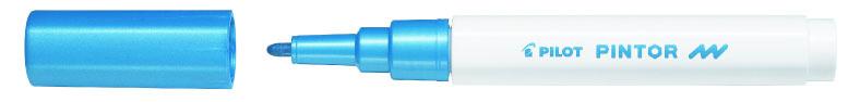 Pilot Pintor 4074 F popisovač akryl metalický modrý