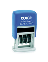 Datumka Colop Mini dater S160 s textem - zaplaceno