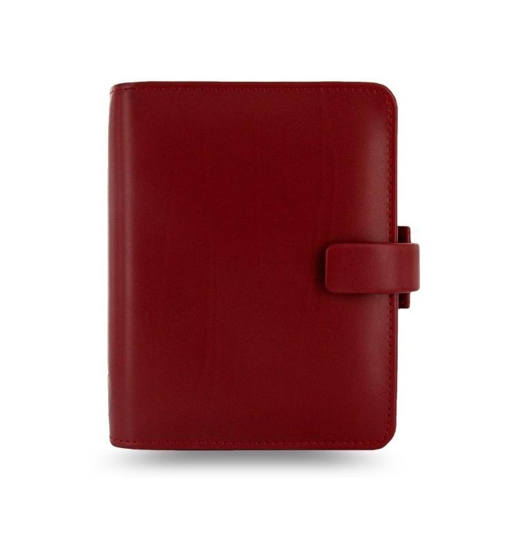Filofax Metropol A7 kapesní týdenní červená