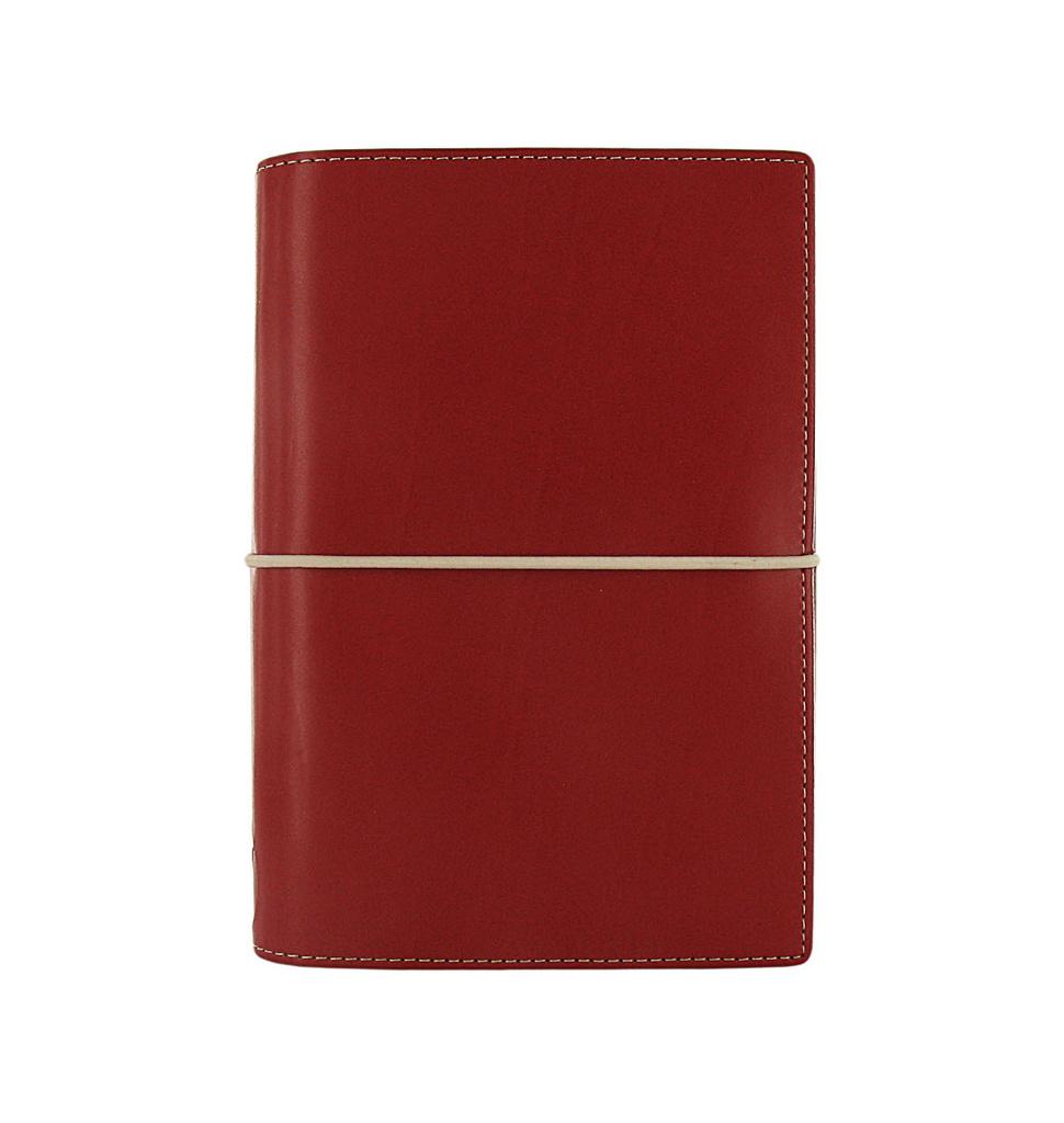 Filofax Domino A6 osobní týdenní  červená
