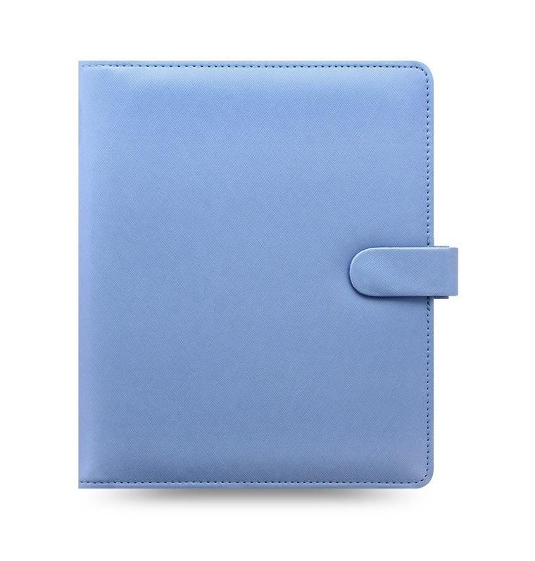 Filofax Saffiano A5 týdenní modrá