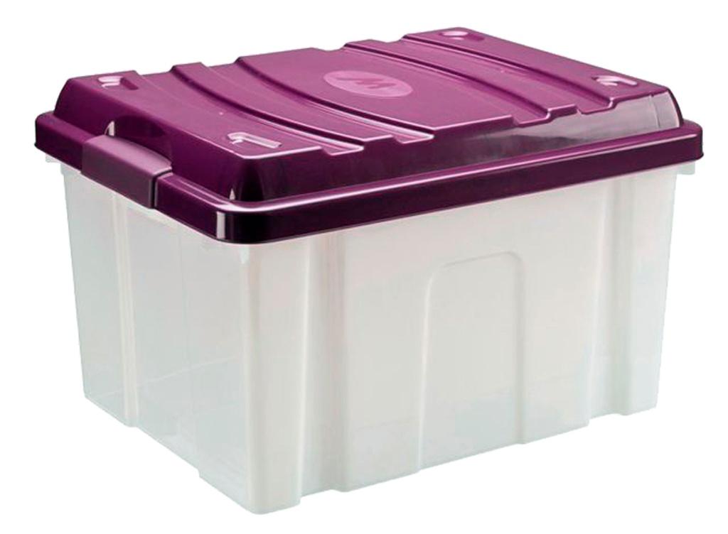Plastové boxy HOBBY bez koleček - 55 l / 56 x 45 x 35 cm