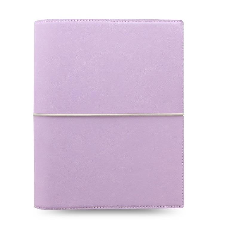 Filofax Domino Soft A5 týdenní pastelová fialová