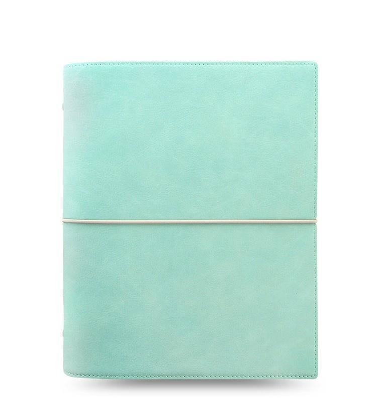 Filofax Domino Soft A5 týdenní pastelová zelená