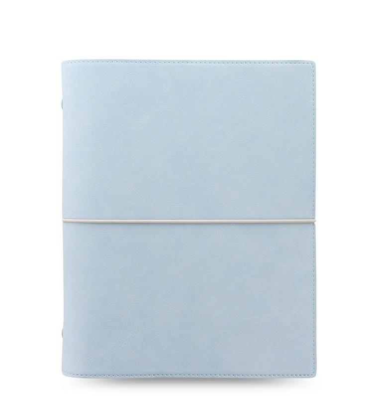 Filofax Domino Soft A5 týdenní pastelová modrá