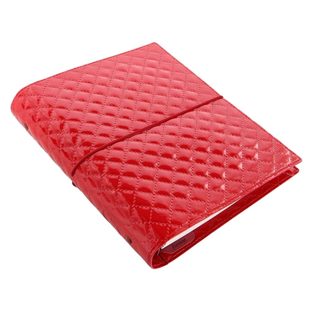 Filofax Domino Luxe A5 týdenní červená