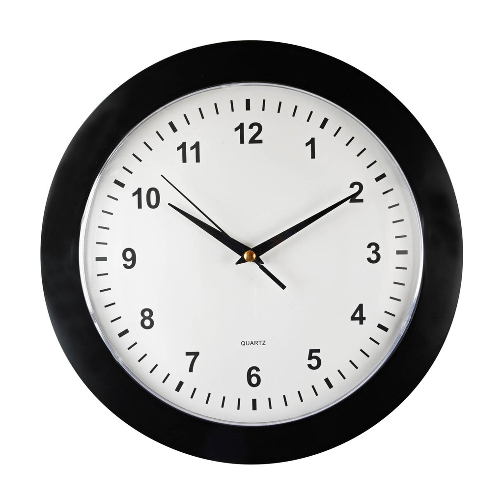 Nástěnné hodiny Spoko Vienna II 31 cm černé