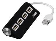 Rozbočovač USB - černá