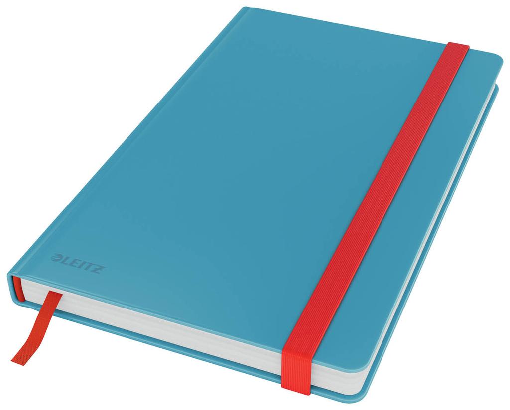 Kniha záznamní Leitz COSY - A5 / linka / klidná modrá