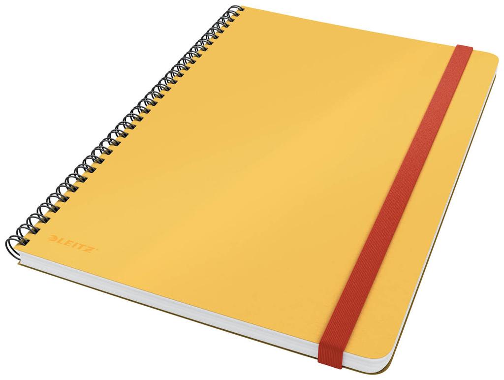 Zápisník Leitz COSY - B5 / linka / teplá žlutá