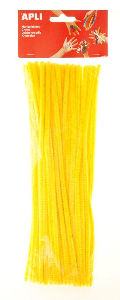 Modelovací drátky APLI žluté / 30 cm / 50 ks