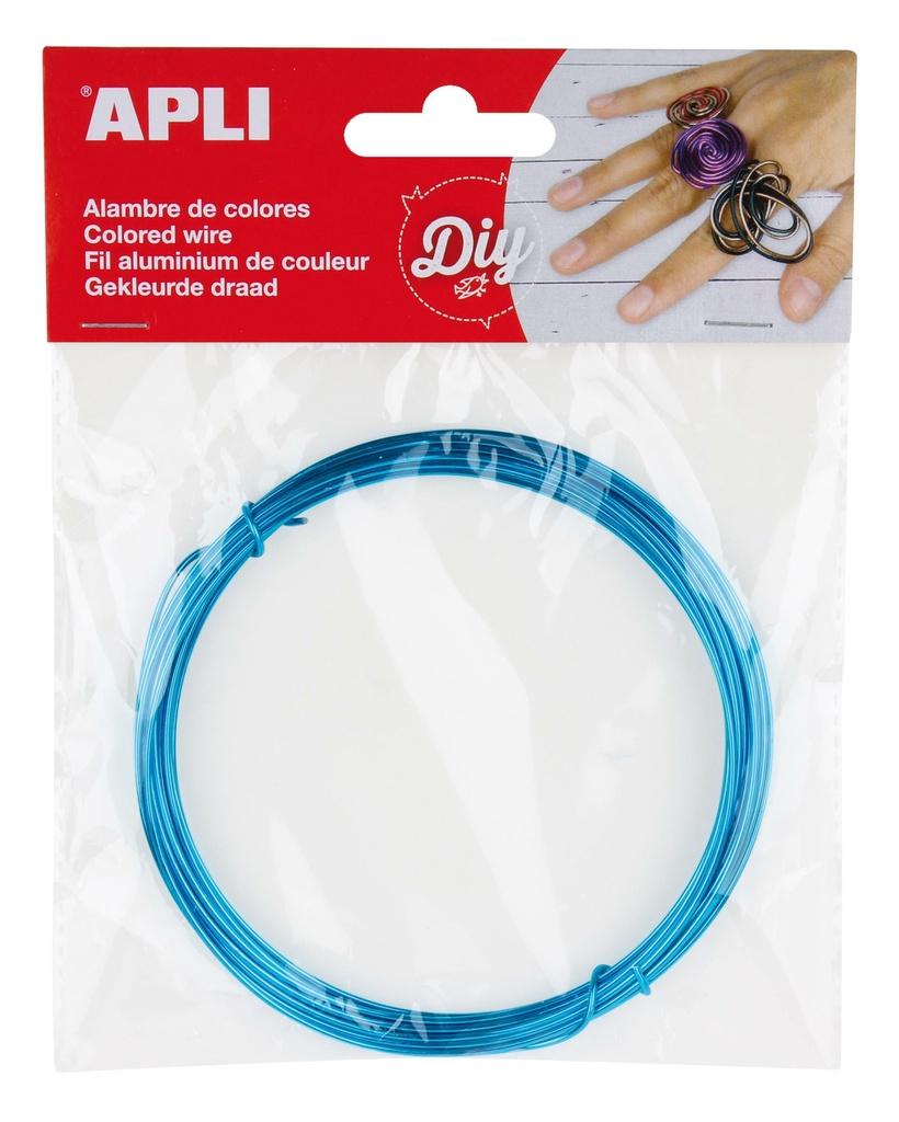 Modelovací drát APLI modrý / šířka 1,5mm / délka 5m