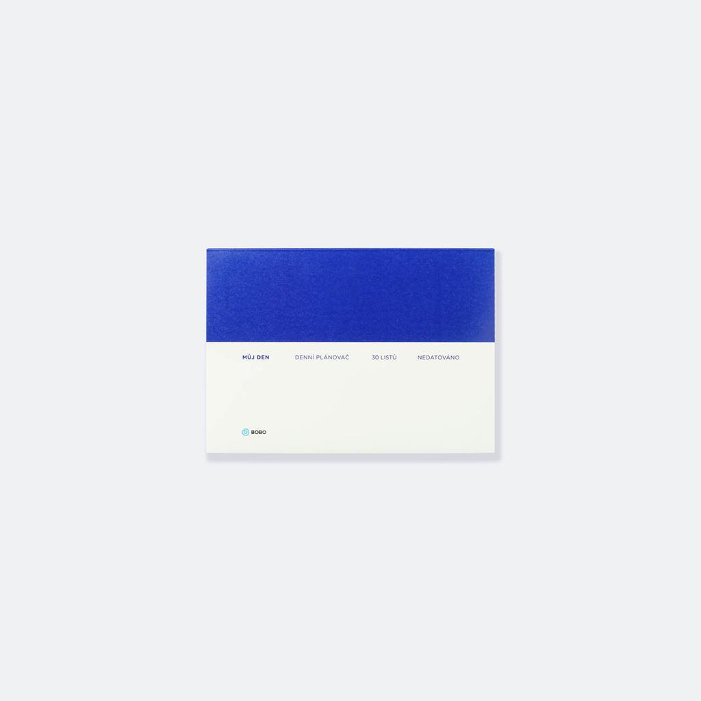 Plánovač nedatovaný BOBO - A5 denní / 30 listů