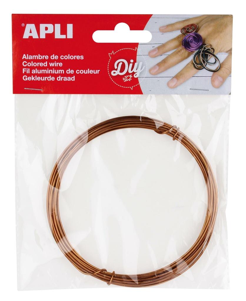 Modelovací drát APLI meděný / šířka 1,5mm / délka 5m
