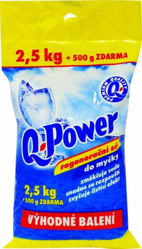 Prostředky do myčky Q-Power - sůl do myčky / 2,5 kg