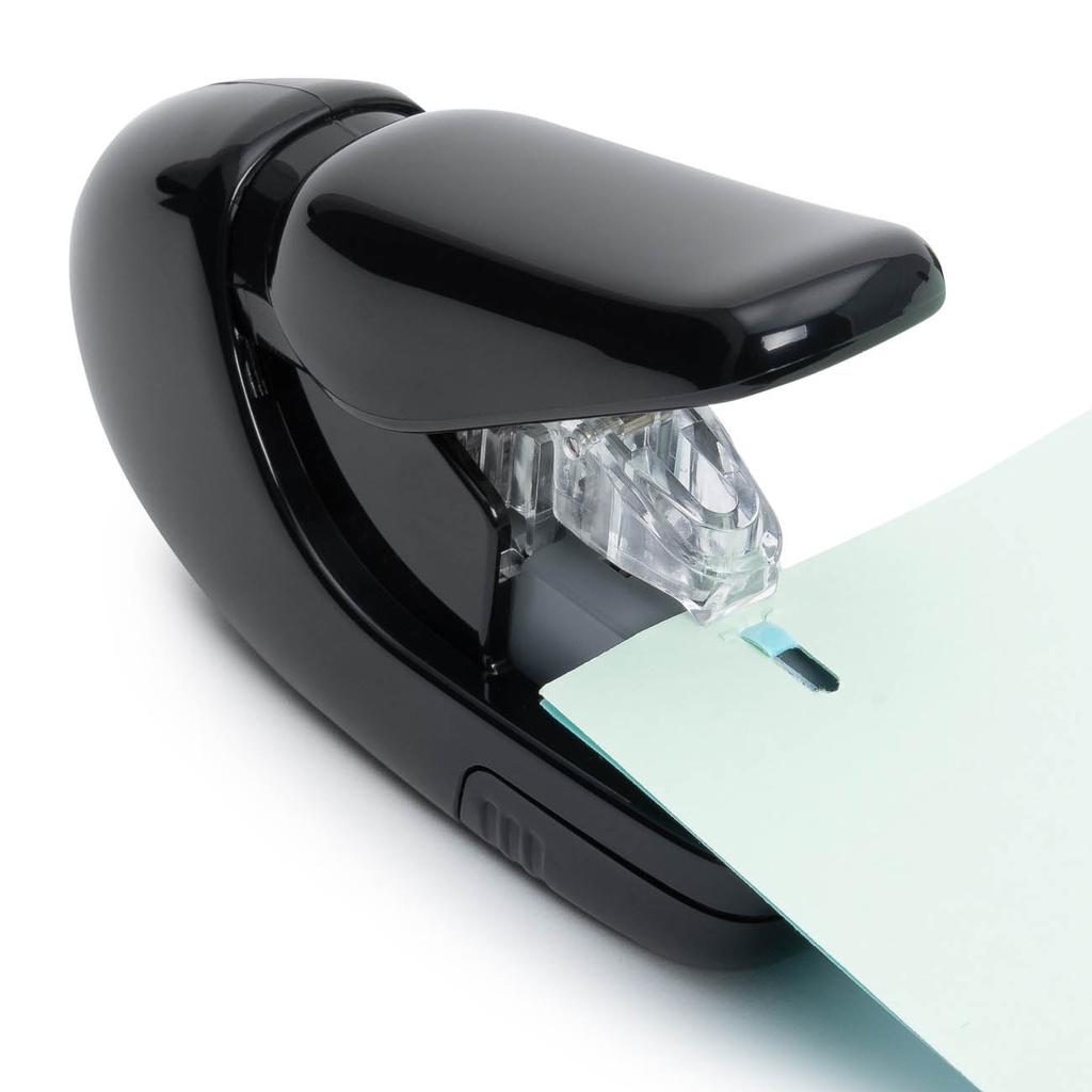 Kancelářký sešívač PLUS bezdrátkový - černá