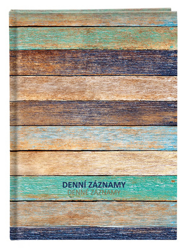 Denní záznamy A4 - dřevo