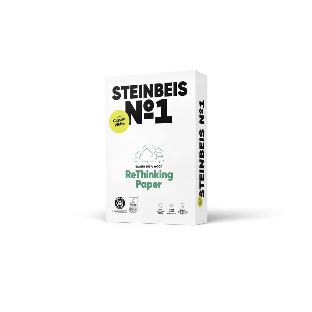 Xerografický recyklovaný papír Steinbeis No.1 - A4 80 g / 500 listů